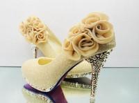 Cheap Wedding Wedding Shoes Best Pumps Medium(B,M) High heel