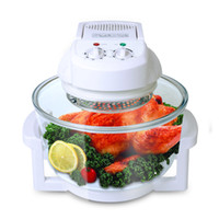 Wholesale Homeleader K43 Countertop Convection Cooking Toaster Oven L with Color White