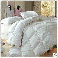 Wholesale Top Grade Worldwide Blanket Goose Down From European Comforter Blanket Quilt Doona Duvet King X210cm GSM