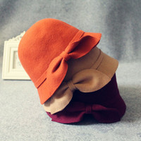 Wholesale Fashion Wedding Fedora Hats for Women Colors Wool Floppy Hat Ladies Dress Caps London Style Vintage Hats for Woman Warm