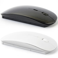 Wholesale 2 GHz Wireless optical mouse Slim Wireless Mouse Cordless Scroll Computer PC for Windows PC Laptop Android Tablets