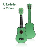 Wholesale Hot Sale Hot Homeland in Compact Ukelele Ukulele Basswood Soprano Acoustic Stringed Instrument Strings Candy Colors f