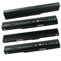Wholesale 1pc mAh Cell Laptop Battery for Asus K52 Battery A52 A52J K42 K42F K52F K52J NXM1B2200Z A31 K52 A32 K52 A41 K52