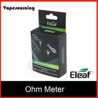 battery volt meter - Original eleaf Digital Ohmmeter Voltmeter tester volt ohm meter for e cigarette vision spinner battery subtank atlantis mega