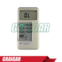 Wholesale TENMARS YF A Temperature Humidity Meters and Dataloggers K type digital thermometer YF160A Digits LCD maximum reading of