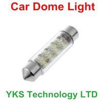 Wholesale LED Blue DC V mm Car Interior Festoon Dome Light Lamp Bulb