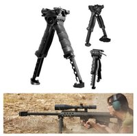 Wholesale Scope Mounts Military Grip Tactical Military Foregrip Swivel Foldable Bipod mm Picatinny Rail For Rifle
