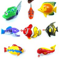 Wholesale hot fishing toys a colorful toy fish is only children s toys