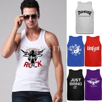 warhammer 40k - Men Cotton Shirts Tanks Tops Thrasher Unkut Just Bring It Wrestling Warhammer K Vests Sleeveless Tees Fitness Sport Clothing
