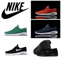 janoski - NIKE SB Stefan Janoski max running shoes cheap Free Run Max shoes discount brand athletic sneaker shoes size