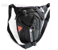 Wholesale New fashion Black Motorcycle Waist Belt Bag racing Drop Leg Cycling Fanny Pack