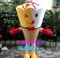 be be special cream - Special Offer Mascot Catoon New Doll Clothing Can Be Worn Ice Cream Man Wearing Funny Atmosphere Doll Clothes Mascot Costume C40118