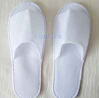 Beach hotel slippers - Hot sale New Cheap Disposable Slippers White Hotel Babouche Travel Beach Guesthouse