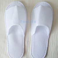 Wholesale Hot sale New Cheap sell Disposable Slippers White Hotel Babouche Travel Beach Guesthouse