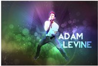 adam levine poster - new x75cm poster wall sticker custom Adam Levine Singer Band poster for home decorate accept any picture