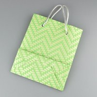 Cheap 2015 New Arrival 12pcs lot Green Gift Packaging Paper Bags With Handle Jewelry Display Paper Gift Bag 17x14.5x6.8cm Wholesale