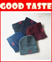 Wholesale Fashionable men and women knitting hat fashion ear cap wool hat leisure hat spring cotton hats