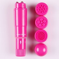 butterfly sex toy - Multicolor Mini AV Vibration With Heads Clit Massager Bullet Vibrator Sex Toys Adult Products