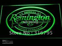 bars guns - d233 g Remington Firearms Hunting Gun Logo Neon Light Sign