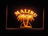 Wholesale jb Malibu Rum Bar Pub NEW LED Neon Light Sign
