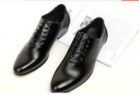 italian shoes - 2015 New Spring Genuine Leather Formal Brand Man Italian Oxford Sneakers Men s Dress Wedding Pointed Toe Shoes