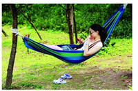Wholesale High quality Load bearing Outdoor Garden Hammock Hang Bed Travel Camping Survival Outdoor