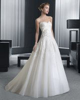Wholesale Two Pieces Wedding Dresses With Half Sleeves Jacket Sweetheart Appliques Organza Plus Size Aline Modest Bridal Dress Chapel Train
