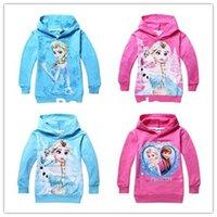 Wholesale Retail PC New Arrival Child Boys girls Hoodies cartoon Long Sleeve tops Sweatshirts kids wear