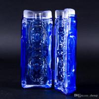 Wholesale Blue foldable male Masturbators for Men sex toys for men masturbators for Sexual Life male masturbators pocket pussy S0025