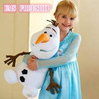 Wholesale New Arrival Hot sell Cartoon Movie Olaf Plush Toys For Sale cm Cotton Stuffed Dolls