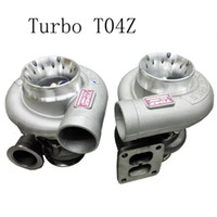 Wholesale RS MTX Universal TURBO H T04Z TURBING TurboCharger T04Z is the Square mouth Turbo Turbine Turbocharger For all cars T04 Flange