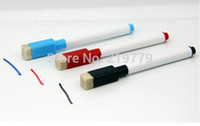dry erase board - 50pieces cm Whiteboard Marker Pen White board Marker Dry Erase Marker Pen black blue Red Green inks color