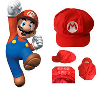 ball brothers - New Fashion Super Mario Cap Brothers Hat Forever Bro Anime Mario Hat Men s Flexible Fits Cap Cosplay Party Hat