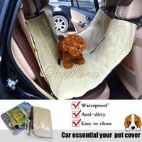 Wholesale High Quality Waterproof Rear Back Car Seat Cover for Pet Dog Cat Hammock Mat Blanket Cushion Liner Dirt Protection