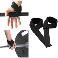 Wholesale Professional Weight Lifting Training Wrist Support Padded Straps Hand Bar Wrist Support Gloves for Bodybuilding BHU2