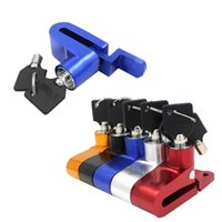 Wholesale 2016 New Motorcycle Disc Brakes Rotor Wheel Lock Security Bicycle Bike Lock Colors Available