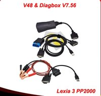 Wholesale Low price New Arrival lexia citroen New version V48 lexia3 pp2000 Diagbox V7 Internface