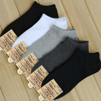 ankle socks black - Hot sale pair Spring Summer and Autumn Women Socks Cotton Boat Socks Men socks