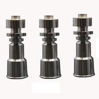 Wholesale Domeless Titanium Nail GR2 Wax Oil mm mm mm mm female joint Universal Hookah Accessories Glass Bongs