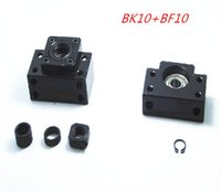 Wholesale BK10 BF10 Set pc of BK10 and pc BF10 for SFU1204 Ball Screw End Support CNC parts BK BF10