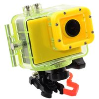Wholesale New Rollei Style Waterproof Extreme Sport Camera Full HD P Action Camera quot LCD Colors Caps For You Change AT ANY TIME