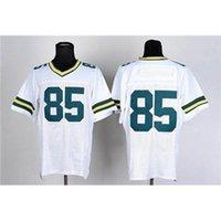 Cheap Cheap American Football Jerseys #85 Jennings White 2015 Super Bowl XLIX Football Uniform Sports Jersey mix order free shipping