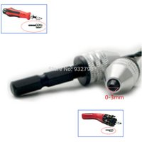 air driven tools - 1 Mini Snap In Hex Shank Keyless Electric Drill Chuck Hex Drive Power Tools For Electric Grinder Screwdriver Grinding Machine order lt no