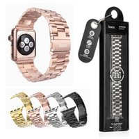 stainless steel buckle - for Apple Watch HOCO Stainless Steel Watch Band Strap Adapter bracelet Watchband Strap Classic Buckle mm mm Colors MOQ