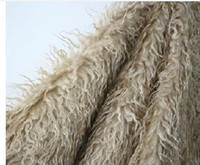animal fur rugs - cm x cm Mongolian Faux Fur Nest cm Long Hair Beach Wool Blanket Newborn Baby Photography Background Cloth Photo Props Rug