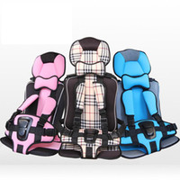 Wholesale 2015 New Arrival Five Points Portable Baby Car Safety Seat Cushion Dining Chair Infant Kids Booster Car Seat Child Travel Seats A5