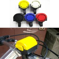 Wholesale Electronic Bicycle Bike Cycling Alarm Loud Bell Horn Powered By x AAA Battery