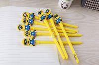 Wholesale Pens Minions cm Despicable Me Students Stationery School Supplies Gel Pen Cute Pen for kids toys
