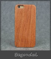 african wood carvings - For Samsung S4 Wood Phone Cases African Pear Shockproof Handcrafted Solid Business Hand Carved Contracted Chrismas DIY Gifts Driving Car