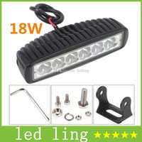Wholesale 1550LM Mini Inch W x3W CREE LED Bar work Light as Worklight Flood Light Spot Light for Boating Hunting Fishing